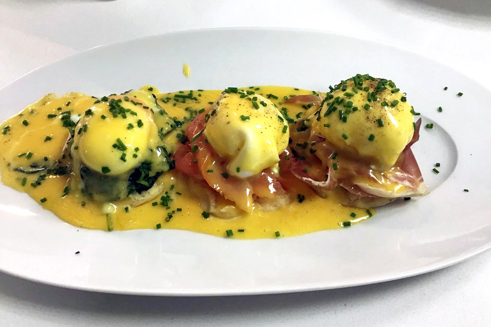 Brunch and All About Eggs, με τον chef Patron Βασίλη Σπόρο #PraxisGastronomyDays