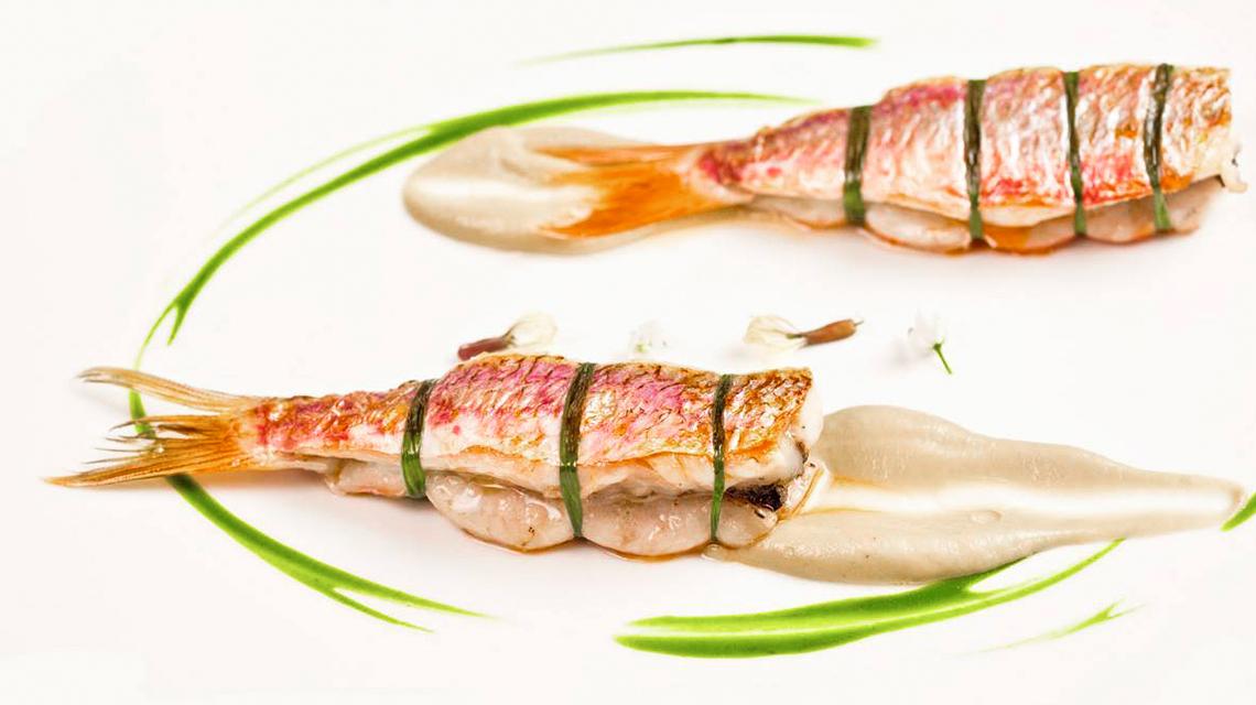 Υψηλή Κουζίνα 2* με Ψάρια της Μεσογείου: chef Άγγελος Λάντος (Σπονδή)