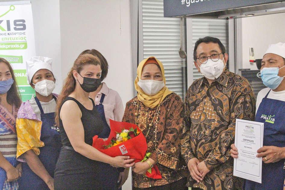 Η Πρεσβεία της Ινδονησίας Επιλέγει το PRAXIS