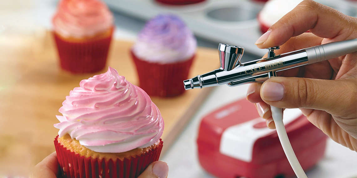 Τεχνικές Ψεκάσματος σε Γλυκά